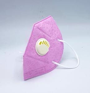 N95 Kinder -mondmasker / mondkapje herbruikbaar - roze