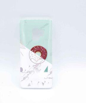 Samsung Galaxy S7  - hoesje - donut on marble – groen