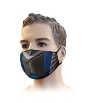 mondmasker - streetwear filter cartridge F7 norm EU PN-EN 779 - 3D print