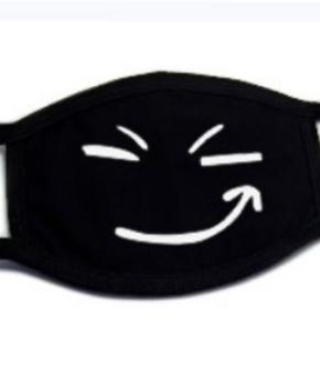 Katoenen fun Gezichtsmasker met oorlussen - smile at me