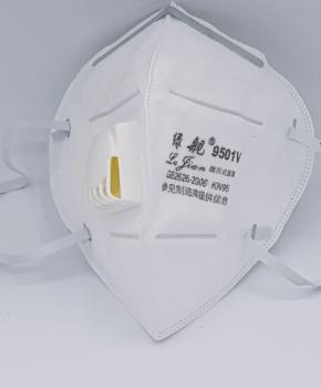 NK95 ffp2 gezichtsmasker met ademfilter - GB2026-2006 - 9501V