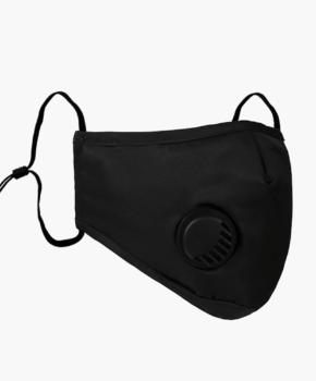N95 mondmasker / mondkapje herbruikbaar - zwart