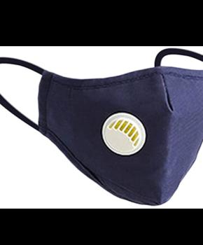 N95 mondmasker / mondkapje herbruikbaar - blauw