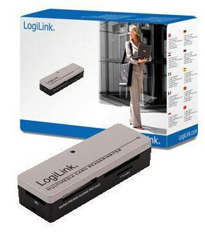 LogiLink Cardreader USB 2.0 extern Mini All-in-1  - geheugenkaartlezer