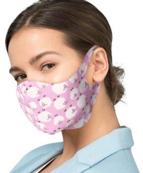 beschermende maskers met zilveren ionen - schaapjes