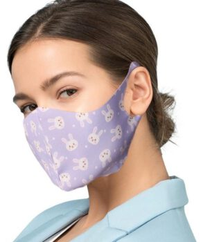 beschermende maskers met zilveren ionen - konijntjes