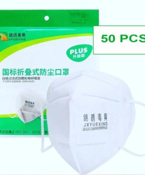50 stuks -ffP2 gezichtsmasker GB2626 2006 - certified