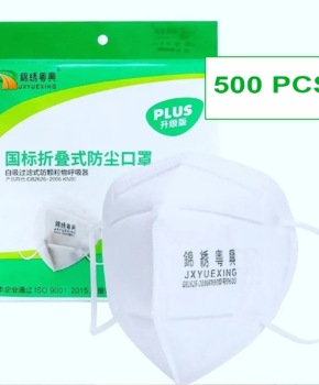 500 stuks - ffP2 gezichtsmasker GB2626 2006 - certified