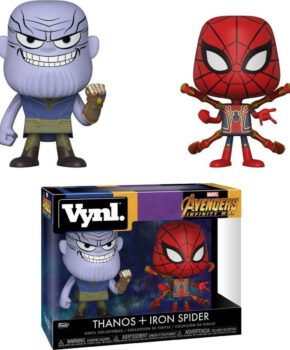 FUNKO Vnyl.: Marvel: Avengers: Infinity War - Thanos and Iron Spider
