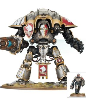 Warhammer 40 K- Imperial Forces - Knight Preceptor Canis Rex