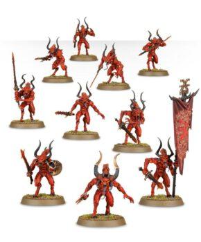 Warhammer 40 k - Age of Sigmar - Daemons of Khorne Bloodletters