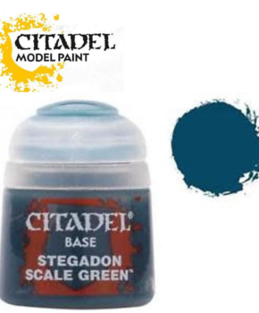 Citadel Base Stegadon Scale Green 12ml (21-10) - basisverf