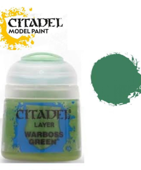 Citadel Layer Warboss Green 12ml (22-25) - Layer verf