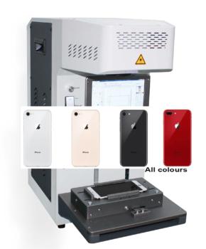 Iphone 8 Plus glazen achterkant reparatie - alle kleuren