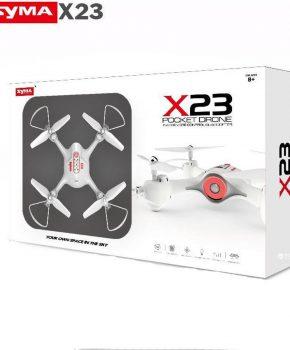 Syma X23 quadcopter zwart - nieuwe model  - 2,4 GHz