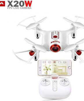 Syma X20W Mini Quadcopter met HD Live Camera fpv Drone