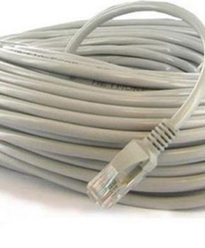 Lan kabel - Patch kabel CAT6 - 25m - Wit - topkwaliteit
