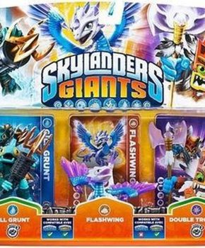 Skylanders Giants Adventure Pack - Gill Grunt - Flashwing & Double Trouble