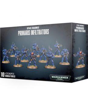 Warhammer 40K -  Space Marines Primaris Infiltrators - verzamelfiguur