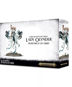 Age of Sigmar Nighthaunt: Lady Olynder, Mortarch of Grief