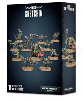 Warhammer 40,000 Xenos Orks: Ork Gretchin - verzamelfiguur