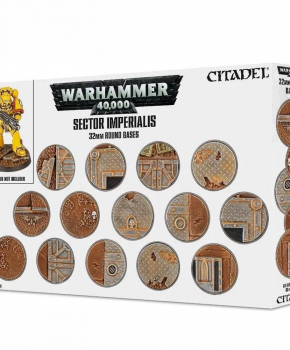 Warhammer 40.000 Sector Imperialis: 32Mm Round Bases