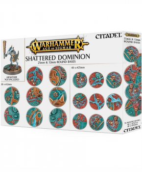 Age of Sigmar - Shattered Dominion 25 & 32mm Round Bases