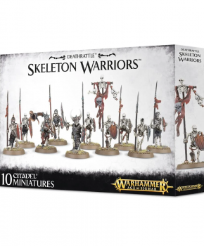 Warhammer Age of Sigmar - Skeleton Warriors - verzamelfiguur