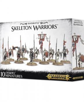 Warhammer Age of Sigmar - Skeleton Warriors - verzamelfiguur