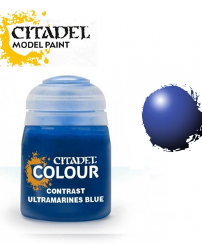 Citadel Ultramarines Blue 29-18 – Contrast verf - 18ml