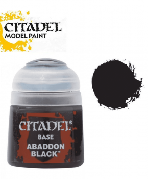 Citadel Abaddon Black - 21-25  – base  verf - 12ml
