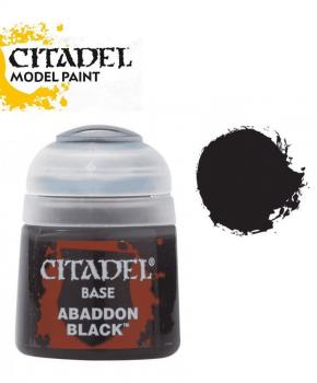 Citadel Abaddon Black - 21-25  – base  verf - 12ml