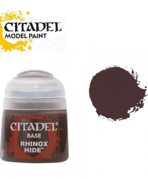 Citadel Rhinox Hide - 21-22  – base  verf - 12ml
