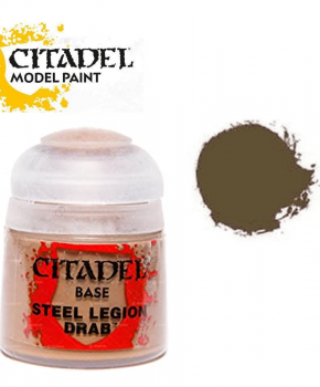 Citadel Steel Legion Drab - 21-17  – base  verf - 12ml
