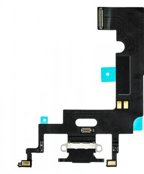 Voor Apple iPhone XR dock-connector flexkabel - zwart