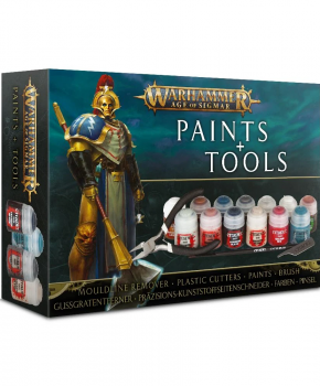 Warhammer 40K - Age of Sigmar Paints & Tools Set