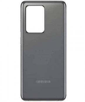 Voor Samsung Galaxy S20  Ultra back cover - achterkant - grijs