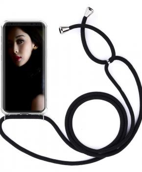 backcover met koord hoesje - voor Samsung Galaxy S8 - Transparant