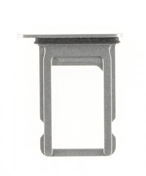 Voor iPhone Xs simkaarthouder + ejectpin - zilver