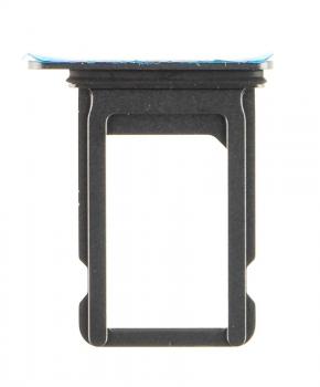 Voor iPhone Xs Max simkaarthouder + ejectpin - zwart