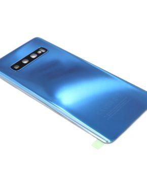 Voor Samsung Galaxy S10 Plus achterkant - batterij cover - blauw