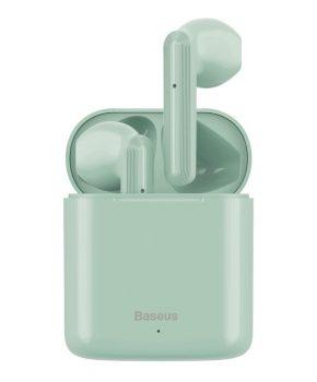 Baseus draadloze bluetooth oordopjes Encok W09 – groen