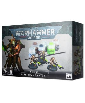 Warhammer 40K - Easy to build - Necrons: Warriors + Paints Set
