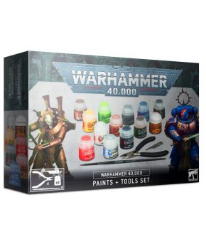 Warhammer 40.000 Easy to build - Paints + Tools Set (60-12)