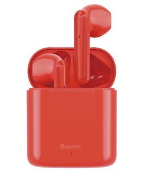 Baseus draadloze bluetooth oordopjes Encok W09 – rood
