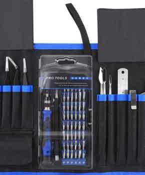 80 in 1 Professioneel reparatietools voor mobiele telefoons, laptops