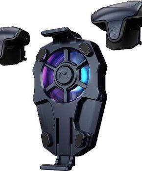 MEMO AK03 PUBG Trigger voor mobiele tefoon controller met koeler