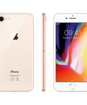 iPhone 8 - 256 GB - goud A Grade + Speck hoesje