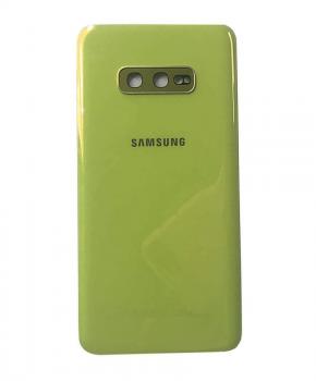 Voor Samsung Galaxy S10e achterkant reparatieset - geel