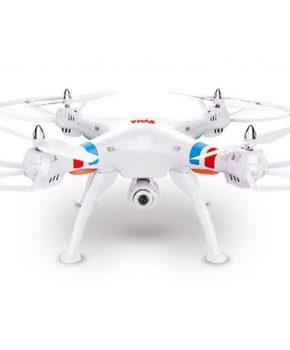 Quad-Copter SYMA X8C 2.4G 4-kanalen met Gyro + Camera -wit